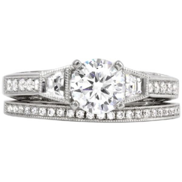 Diamond Wedding Set - Rego 11485-01