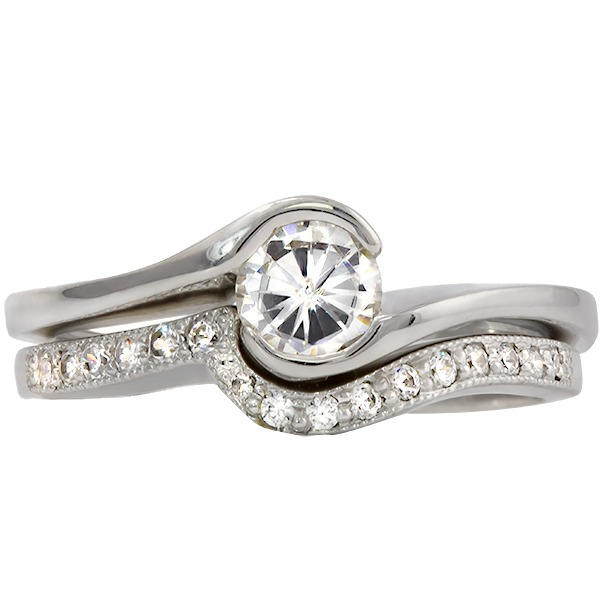 Diamond Wedding Set Rego 3372-02